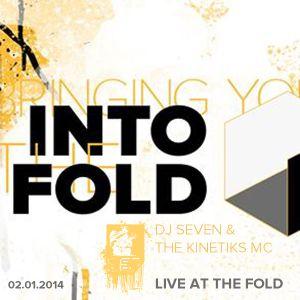 Seven & MC Kinetiks • Live at the Fold • 02.01.14