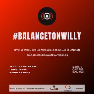 #BalanceTonWilly, lever le tabou sur le harcèlement sexuel et l'inceste