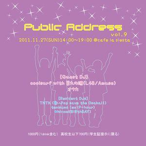 Nov.27.2011DJ@Public Address