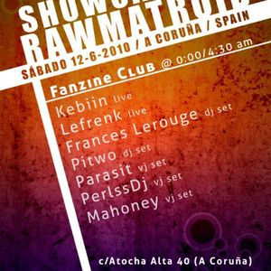 Kebiin Live @ Rawmatroid Showcase 2010 @ Fanzine Club