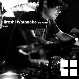 126: Hiroshi Watanabe aka Kaito exclusive DJ mix!!!
