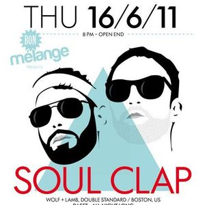 Soul Clap - Live Interview on International Art Radio Basel @ Acqua Basel - 16/06/2011