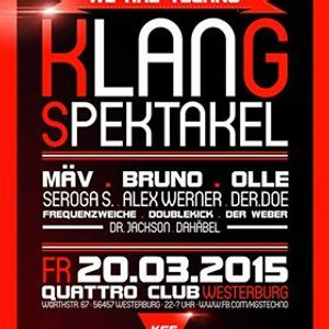 Timbo @ Klangspektakel:We are Techno, 20.03.15