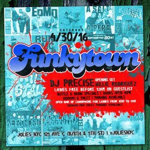 DJ PRECISE FUNKYTOWN SESSIONS PT.2