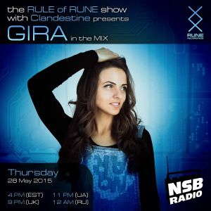 GIRA - GUEST MIX for RULE OF RUNE RADIO SHOW ON NSB RADIO