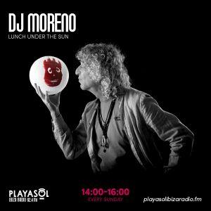 15.11.20 LUNCH UNDER THE SUN - DJ MORENO