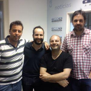 EL DERBY Con Diego Notario,Sebastian Heredia,Juan Pablo Toscano Y Claudio Taborda 25-1-2016