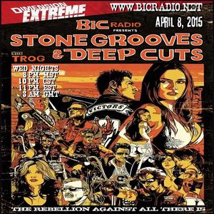 Stone Grooves & Deep Cuts on BiC Radio - April 8, 2015