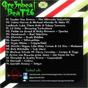Beat 26 Greenbeat Set Enero 2013