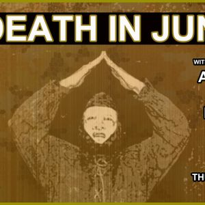Mix Disc for DEATH IN JUNE show,  September 12, 2013