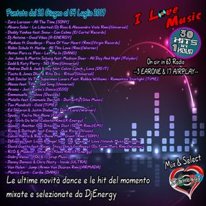 DjEnergy - I Love Music (28 Giugno 2019) by Gaspare Raia