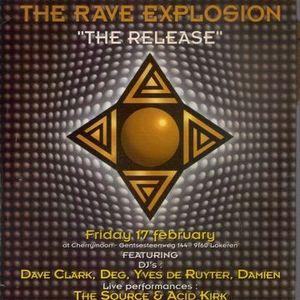 """Deg & Acid Kirk at """"The Rave Explosion CD Release Party"""" @ Cherry Moon (Lokeren) - 17 February 1995"""