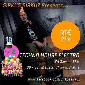 Sirkus Sirkuz Presents Jan 2016 as Broadcast on RTE 2FM