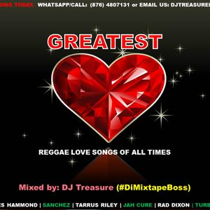 GREATEST REGGAE LOVE SONGS OF ALL TIMES | DJ TREASURE #1 LOVERS ROCK MIX 2017 18764807131