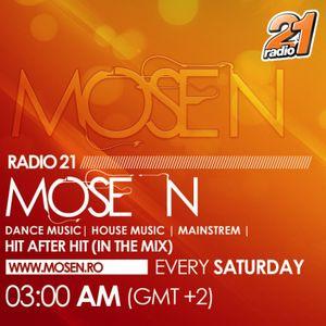 Mose N @ Radio 21 Podcast Saturday 28.04.2012 [www.mosen.ro]