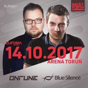 ONTUNE & BLUE SILENCE live at EUFORIA FESTIVALS - BACK & FORTH 3.0 (Poland, Toruń 2017-10-14)