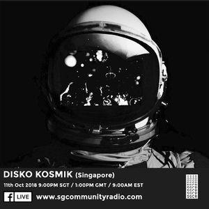 SGCR Radio Show #90 - 11.10.2018 Episode ft. Disko Kosmik