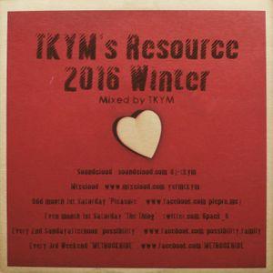 TKYM's Resource 2016winter