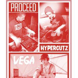 Dj Hypercutz - Dj Proceed - Dj Vega presents - Bxl - Ghent pt.1