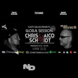 Global Session - Nasty deluxe, Chris Maico Schmidt - Confetti Digital London