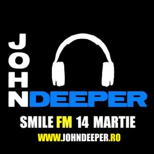 JOHN DEEPER @ Smile FM - 14 Martie 2014 (I Like To Move It)