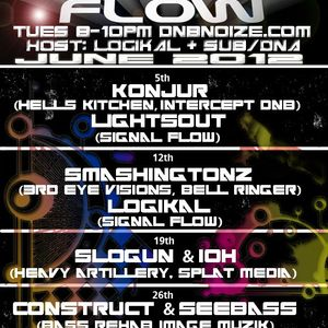 LightsOut @ Signal Flow Radio 6/5/12