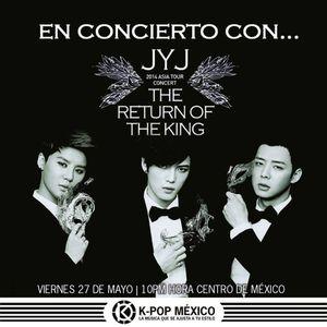 En Concierto con... JYJ The return of the King