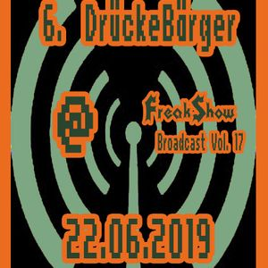 DrückeBärger - Live at FreakShow Broadcast Vol. 17 (22.06.2019 @ Mixlr)