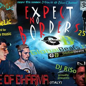 """Voice of Dharma - Expect No Borders 002 @ GlobalBeats FM (Blue Channel)""""Spirit of Nature Psy"""""""