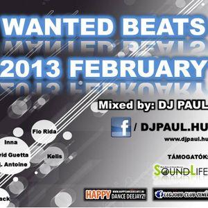 Wanted Beats Mix 2013 February