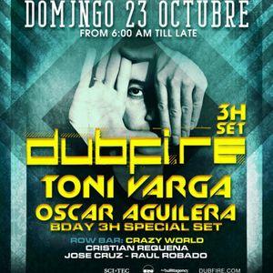 Dubfire Live @ Elrow,Sunday Morning (Barcelona) (23.10.2011)
