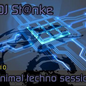 DJ St@nke mix690 MINIMAL TECHNO vol.10