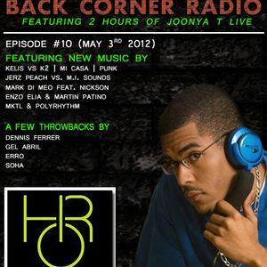 BACK CORNER RADIO: Episode #10 (May 3rd 2012)