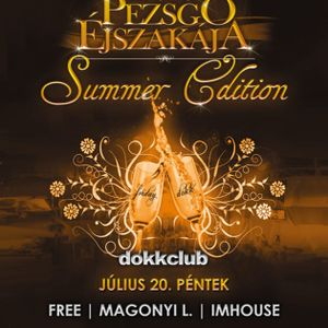 Dj Free & Magonyi L & Imhouse - Live @ Dokk Club Budapest 100 Pezsgő Éjszakája Summer 2012.07.20.