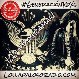 GeneracionRoXs - Programa 15 Diciembre 2016 - 100 Programas