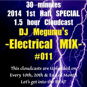 DJ Megumu's Electrical Mix #011 -2014 1st Half Mix-