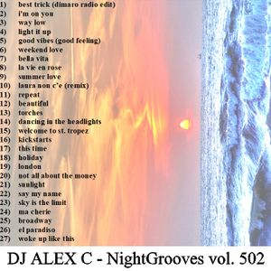 DJ ALEX C - Nightgrooves 502 dance (dj antoine tribute 2010-2019)