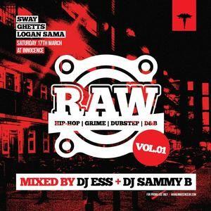 Raw Mix Vol. 1 (Mixed by Deejay Ess & Sammy B)