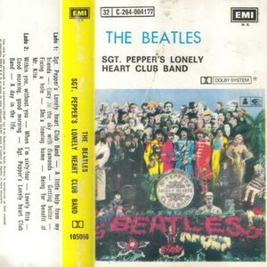 The Beatles: Sgt. Pepper's Lonely Hearts Club Band. 105060. Emi Odeón. Década 1980. Chile