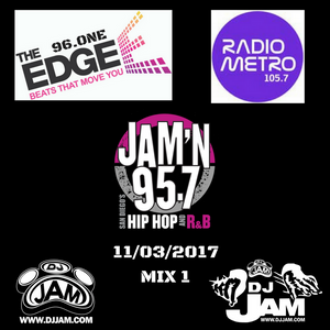 DJ Jam Radio Mix #1 11/03/2017