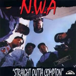 N.W.A CHIN CHECK APPETITE FOR DESTRUCTION STRAIGHT OUTOF COMPTON