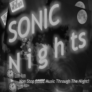 Sonic Nights - non stop classic Sonic game music every night from 2am-4am - Show 1 - Hour 1