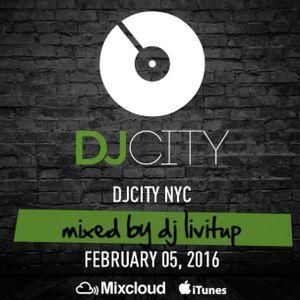DJ City Friday Fix DJ Livitup