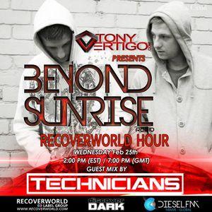 Beyond Sunrise radio...Cxxiii featuring The Technicians