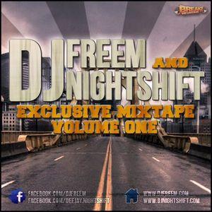 DJ Freem Vs. DJ NightShift - Exclusive House Mix Vol. 1
