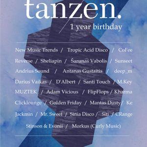 MUZTEK - Tanzen. 1 Year Birthday Special Mix