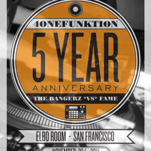 The Bangerz vs. F.A.M.E @ 4OneFunktion 5yr Anniversary Nov. 27, 2011