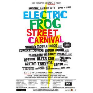 Electric Frog St Carnival Preview