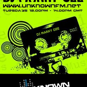 "DJMarkyGee Unknownfm.net ""The Midday Sessions"" 24/01/2012"