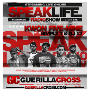 SPEAKLIFE Radio Show: Season 6 Ep. 8 Black Knight interview